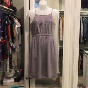 Madewell lilac slip dress